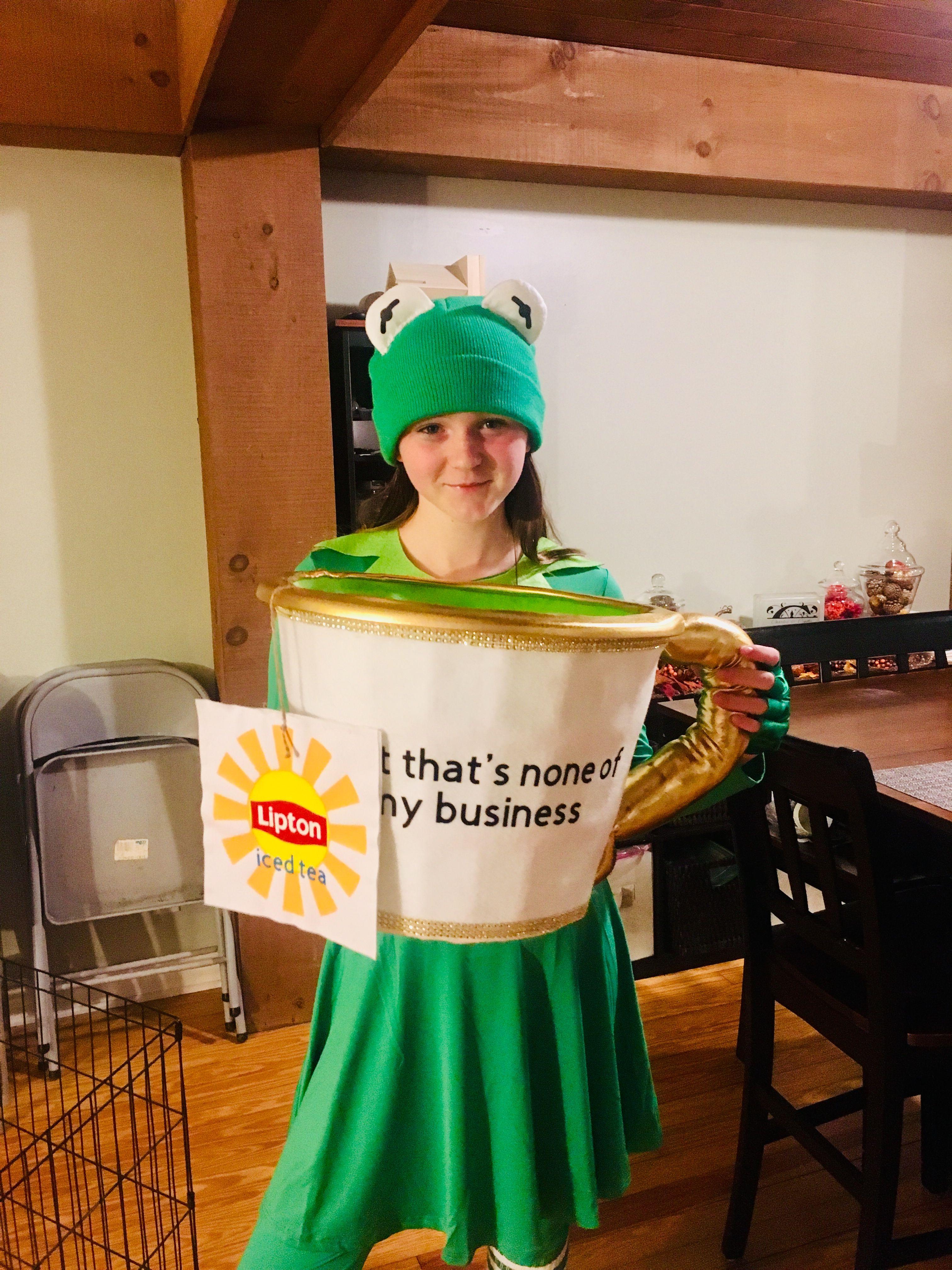 Kermit The Frog Meme Costume Halloween In 2019 Pinterest Meme