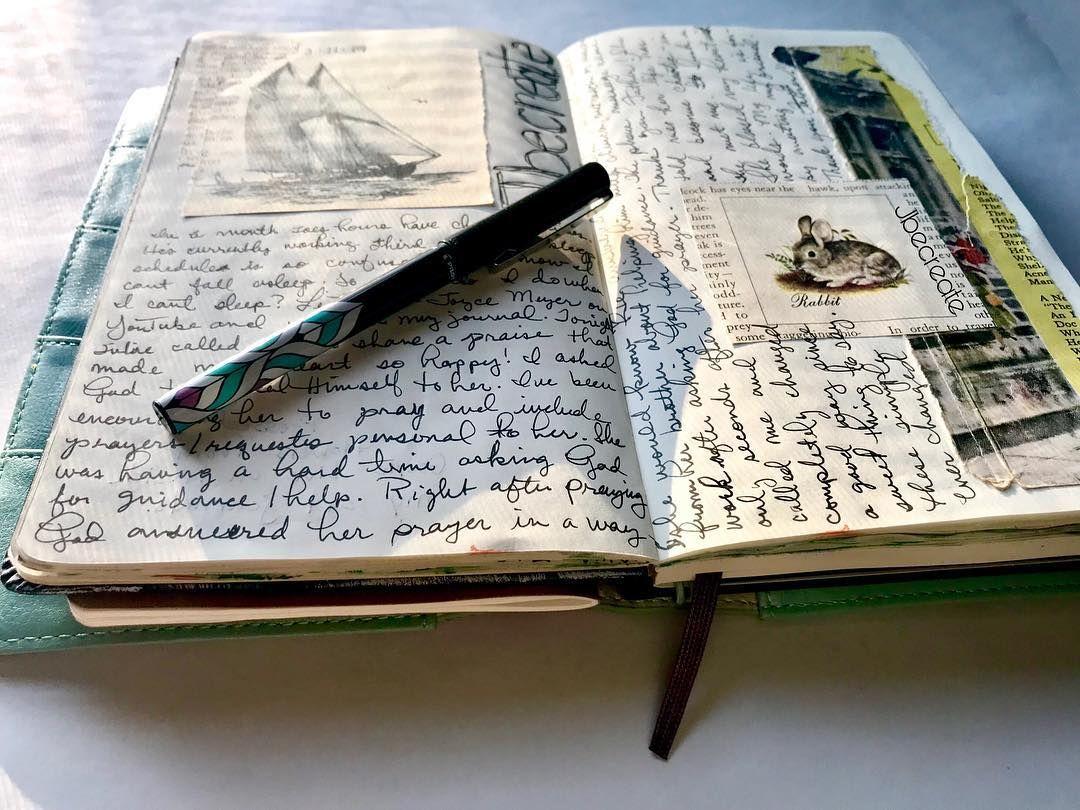 Creator Of Art Journals On Instagram Question How Has