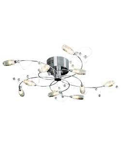 Buy Living Belize 10 Light Clear Ceiling Light At Argos Co Uk Your Online Shop For Ceiling And Wall Lights Wall Ceiling Lights Ceiling Lights Wall Lights