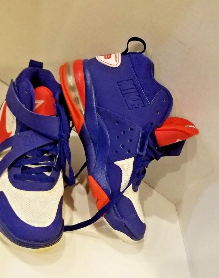 Nike Force Charles Barkley Vintage Red White Blue High Top