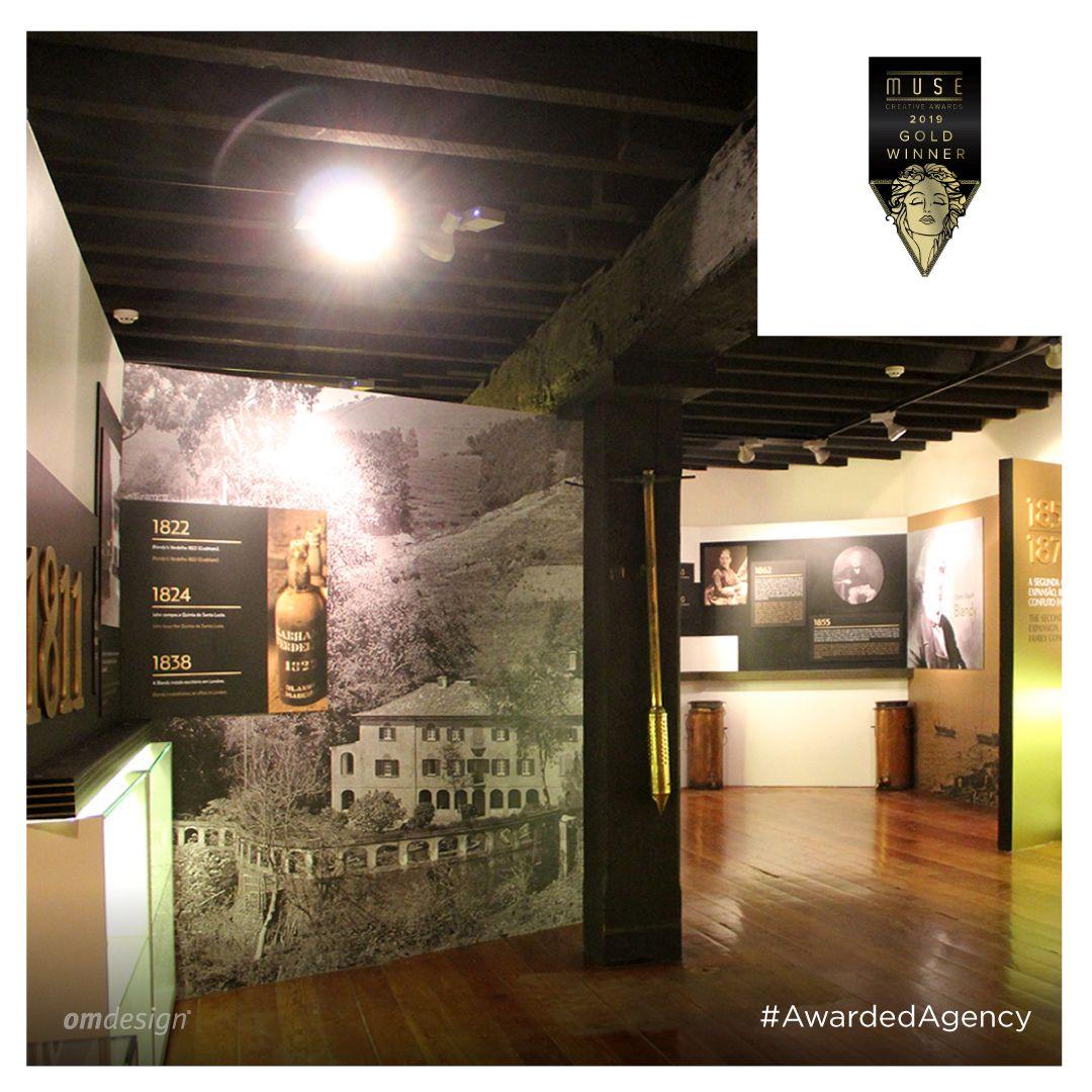 Blandy's Wine Lodge  #Omdesign #Design #Portugal #LeçadaPalmeira #Since1998 #AwardedAgency #DesignAwards #600AnosMadeira #VinhodaMadeira #MadeiraWine #Blandys #IVBAM #Awards #MuseAward #IAAAwards #GoldAward #GoldWinner