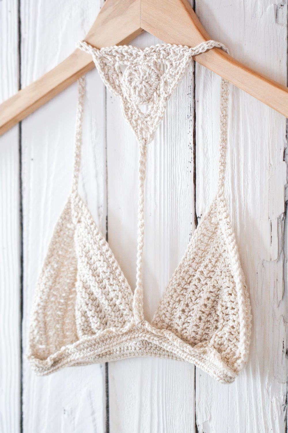 Bare it all crochet bralette $49.99 - www.imnotyourtype.com | www ...