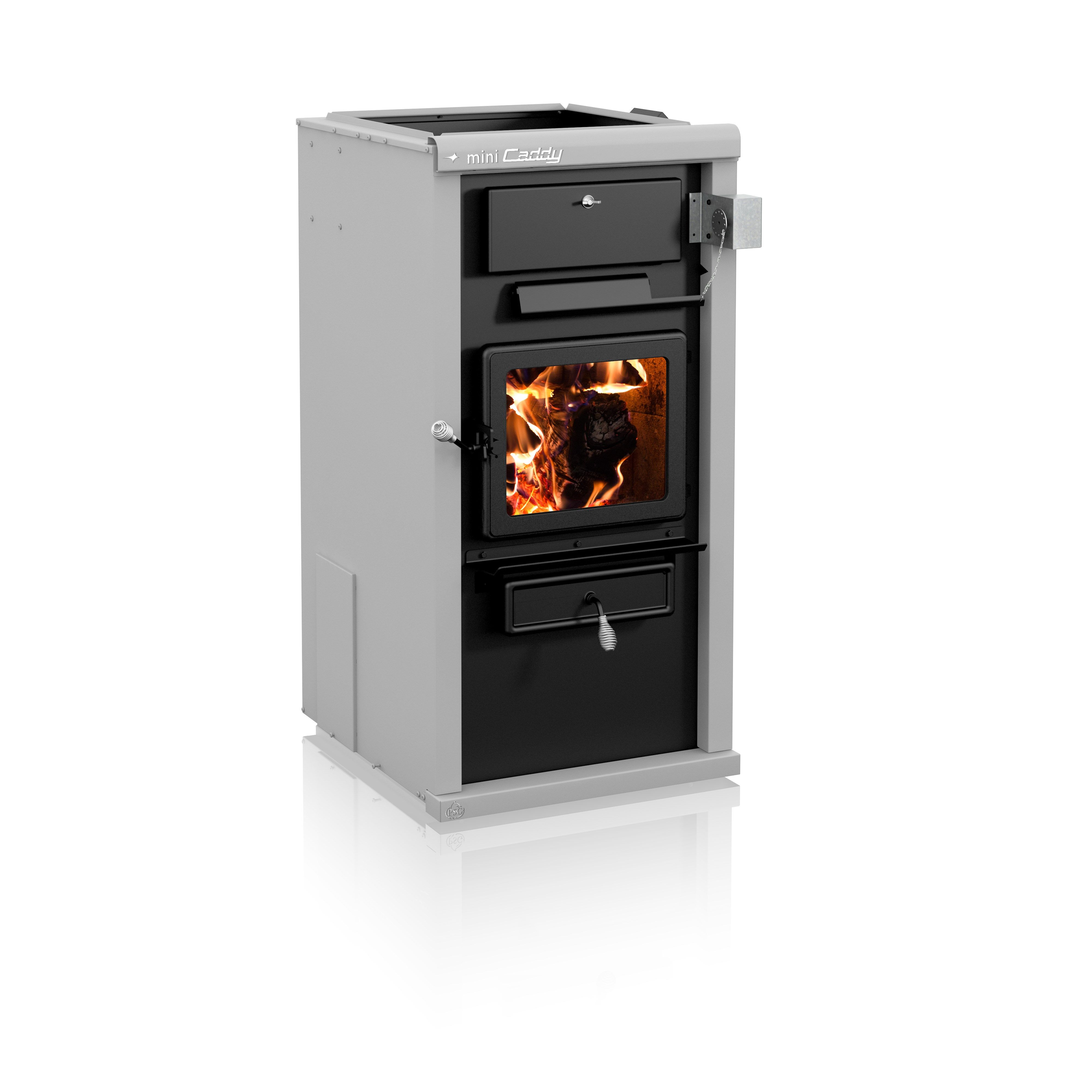 Interested In A Wood Furnace Starting At 3 299 The Newly Redesigned Mini Caddy Combines Psg S Renowned Clean Burni Wood Furnace Hearth And Patio Wood Stove