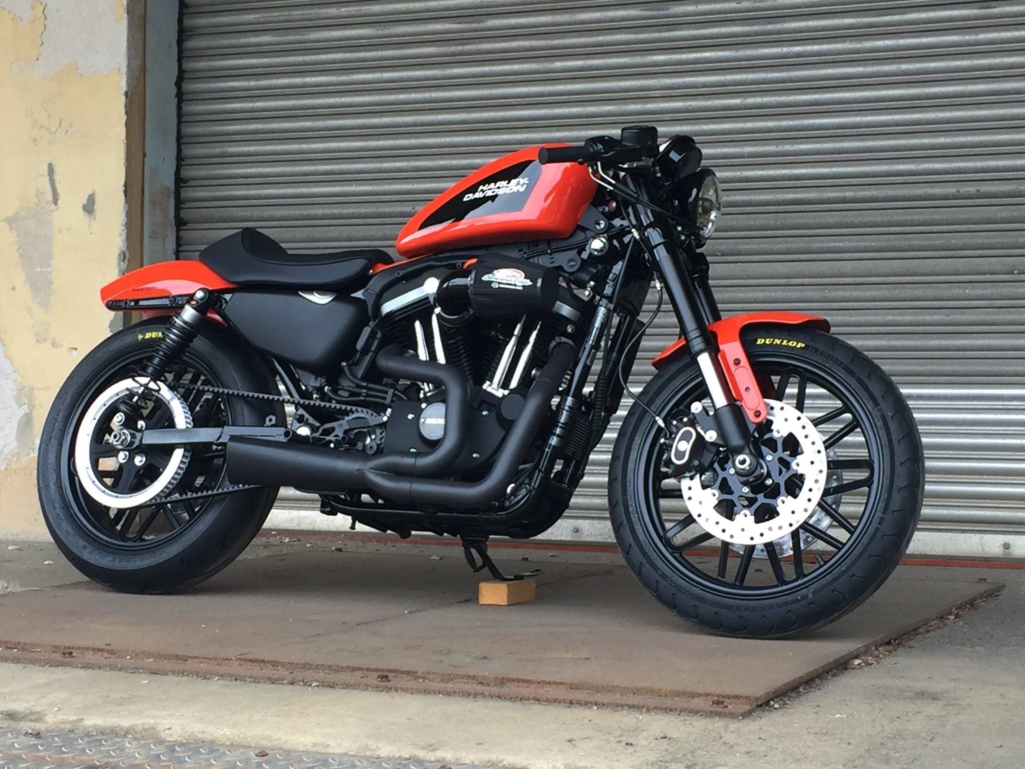 Custom Harley-Davidson XL 1200 Sportster® Roadster 2017 | Screamin ...