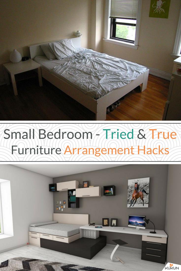 7 Clever Small Bedroom Furniture Arrangement Hacks Bedroom
