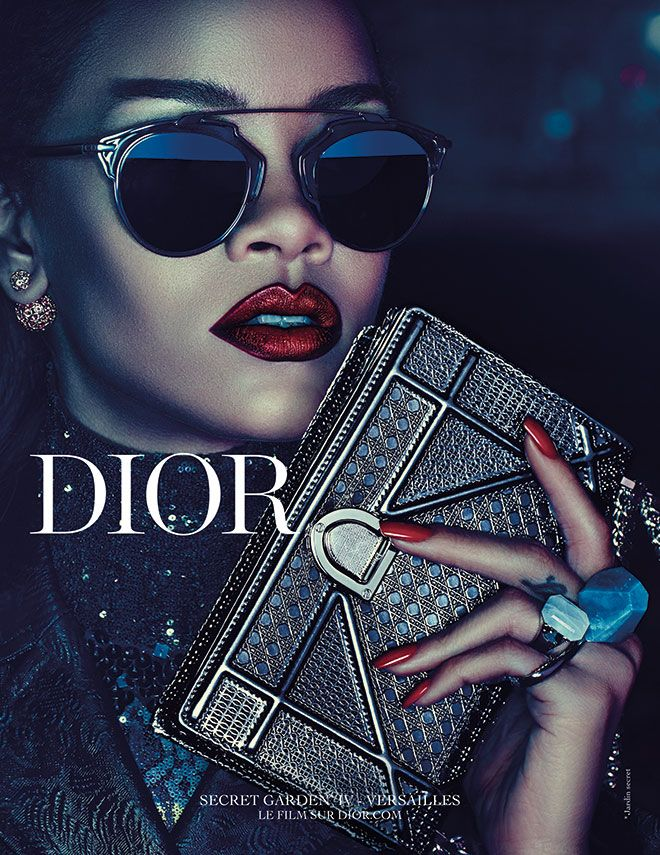 7a06b046216e7 These Are the 3 Lipsticks Rihanna Wears in Her New Dior Ad in 2019 ...