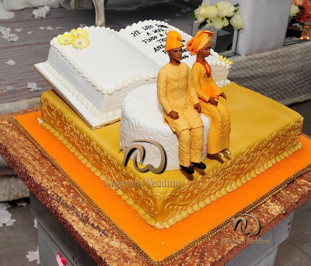 beautiful nigerian traditional wedding cakes presents 60 traditional wedding cake ideas 11209