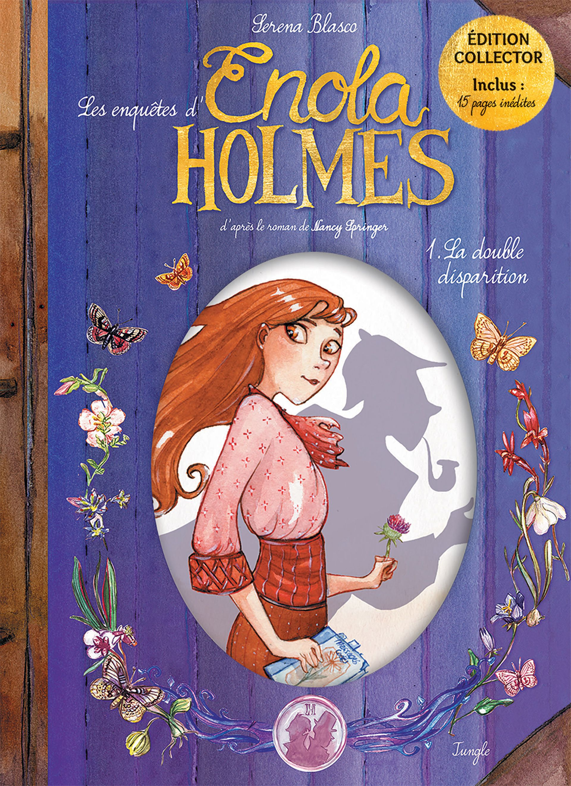 French graphic novel special collector's edition of Enola Holmes #1: The  Case Of The