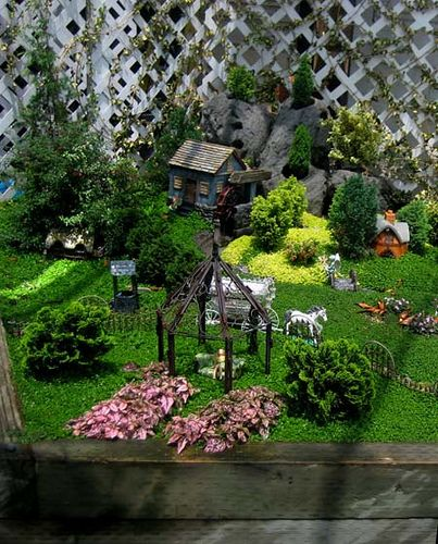 Fairy Garden Village At The M Nursery In Orange Ca It S A Huge Well Terms