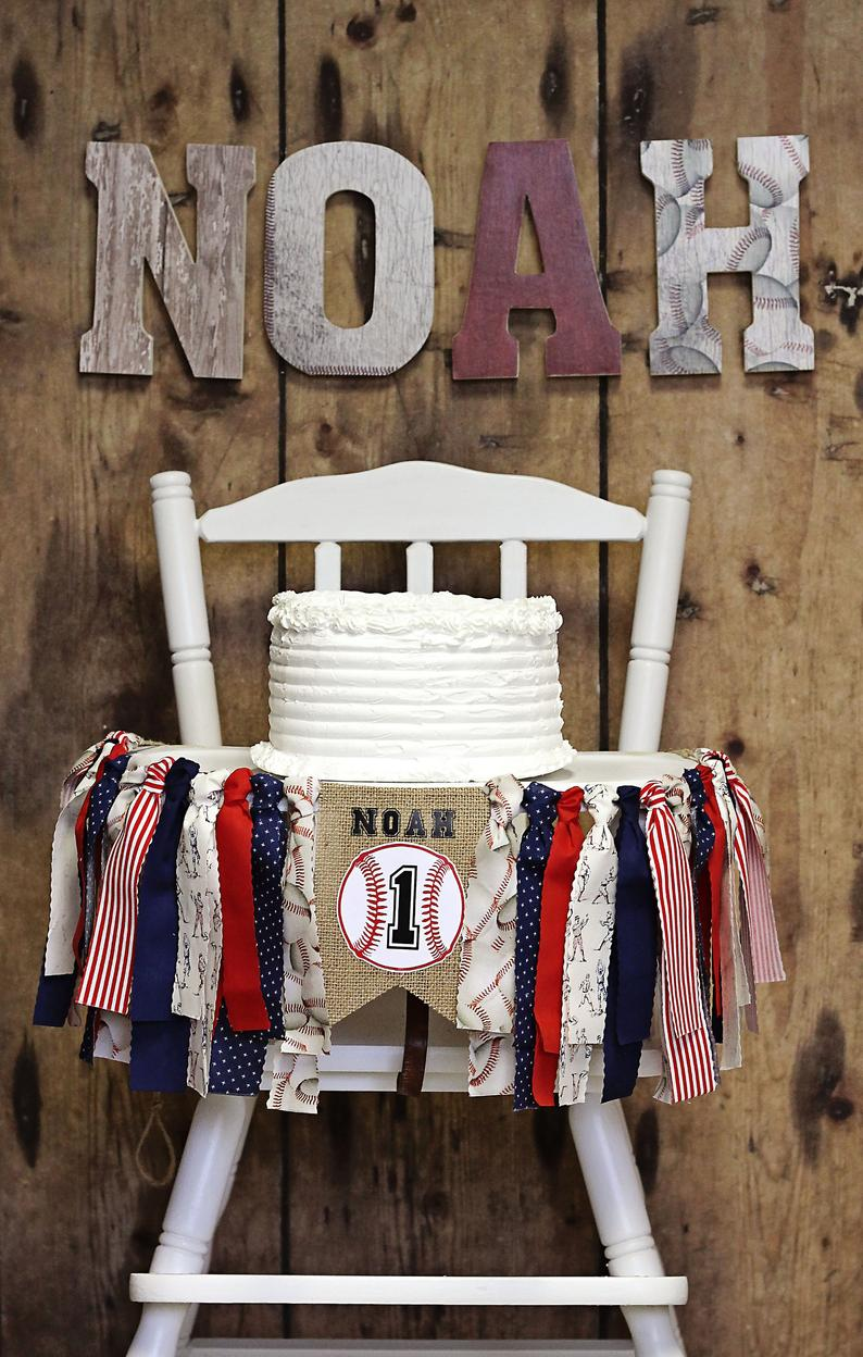 Wooden Name Letters, Baseball Room Decor, Personalized