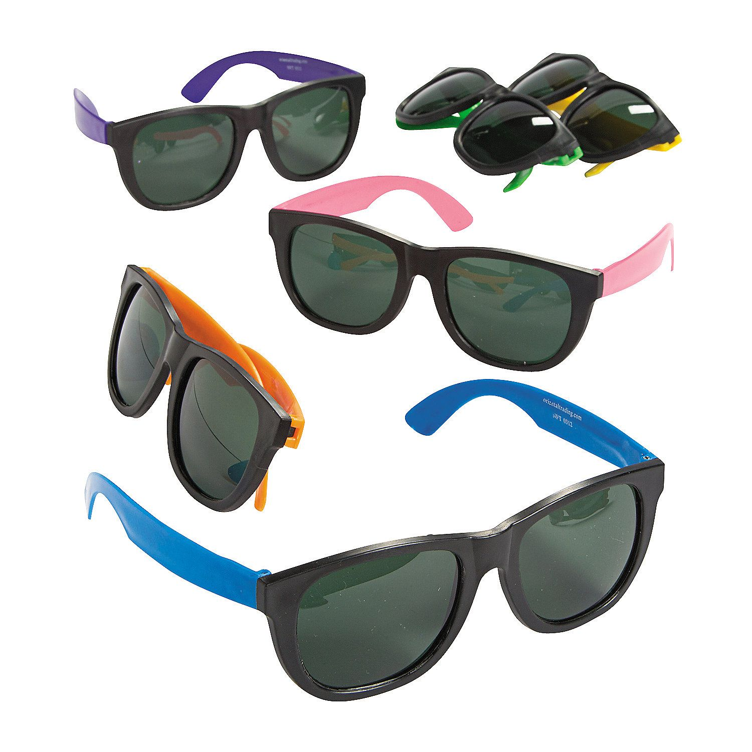 Adult\'s Cool Neon Sunglasses | Birthdays, Favors and Luau
