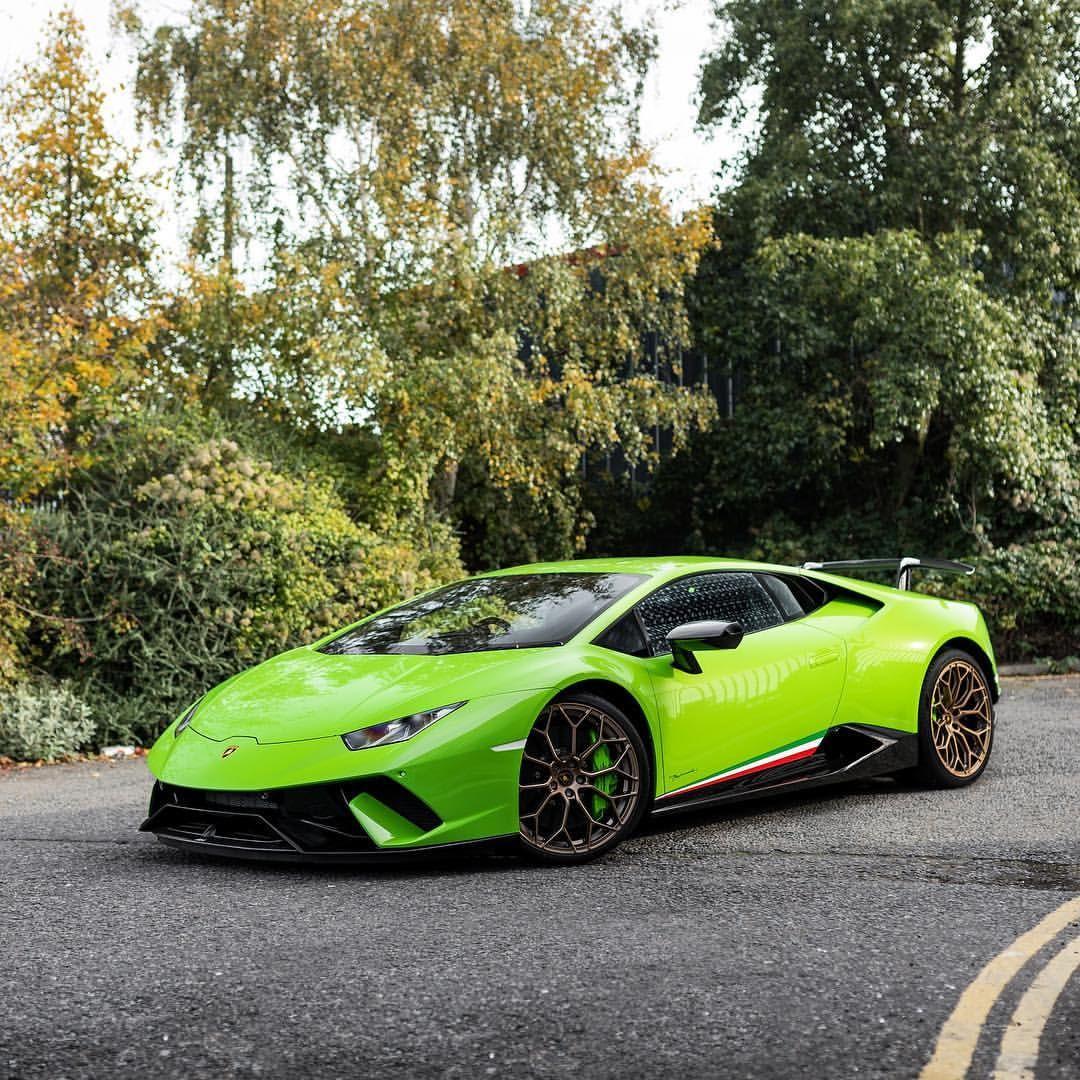 Lime Green Lamborghini