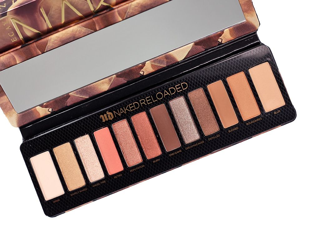 Urban Decay Naked Reinvented Eyeshadow Palette Review and