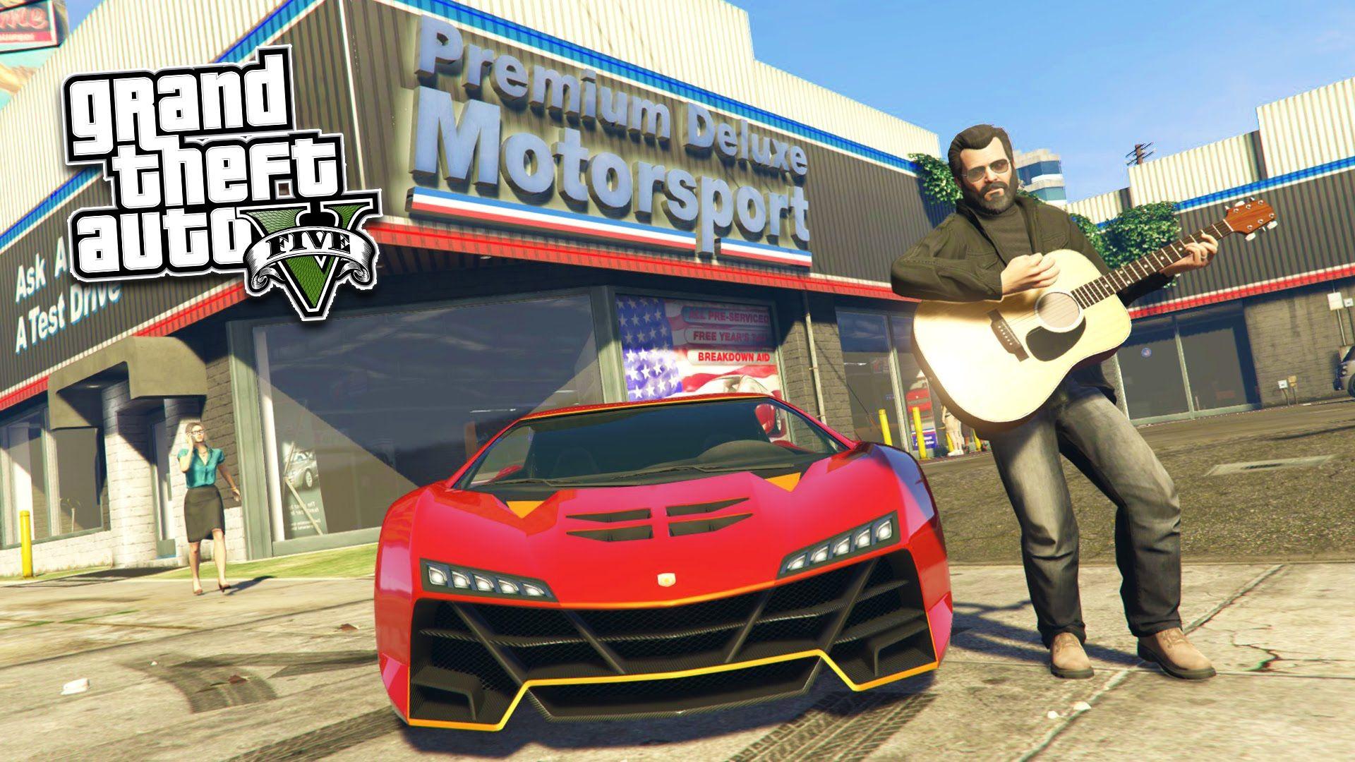 GTA 5 PC Mods - REAL LIFE MOD #10! GTA 5 School & Jobs