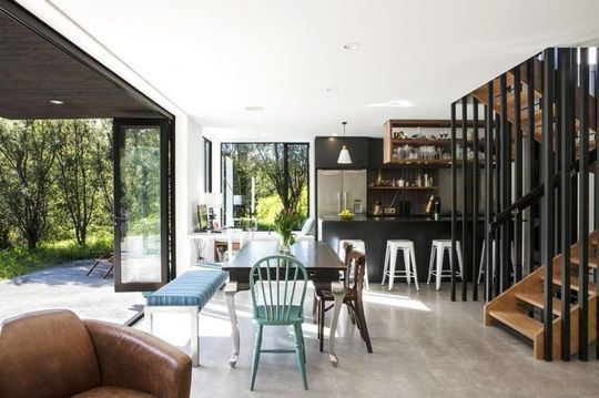 35 cuisines ouvertes façon design - salon sejour cuisine ouverte