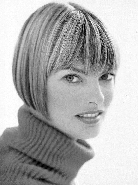 Linda Evangelista Bob Hairstyles Linda Evangelista Hair Styles