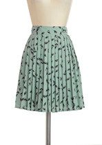 Chatter and Chirp Skirt | Mod Retro Vintage Skirts | ModCloth.com