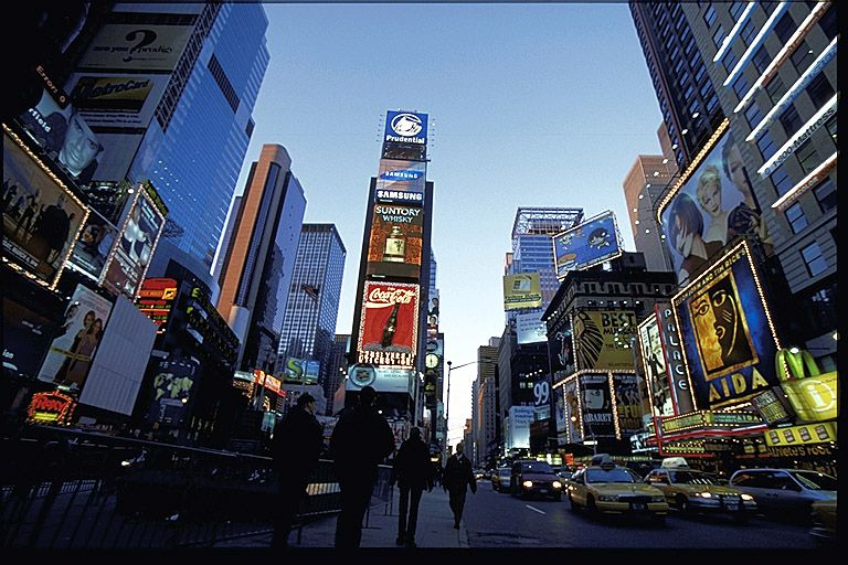 Times Square! It was AWESOME! Had a blast just walking around!