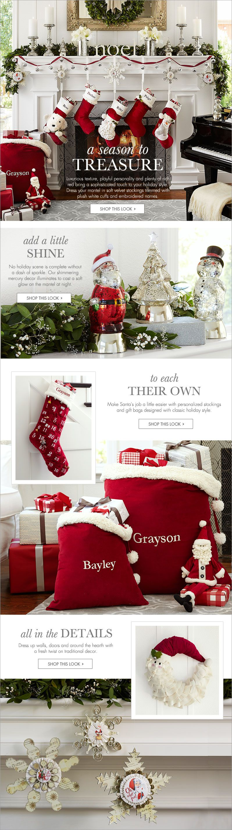 Baby S First Christmas Pottery Barn Kids Christmas