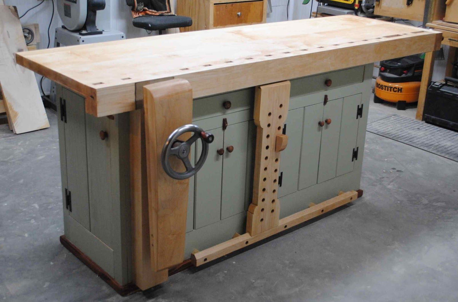 Woodworking Bench Ideas Part - 18: First Light Woodworking: Bench Build - Complete !! #woodworkingbench