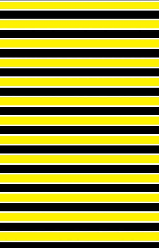 Yellow Black And White Stripes By Lornakay Trendy Wallpaper Pattern Stripes Black And White