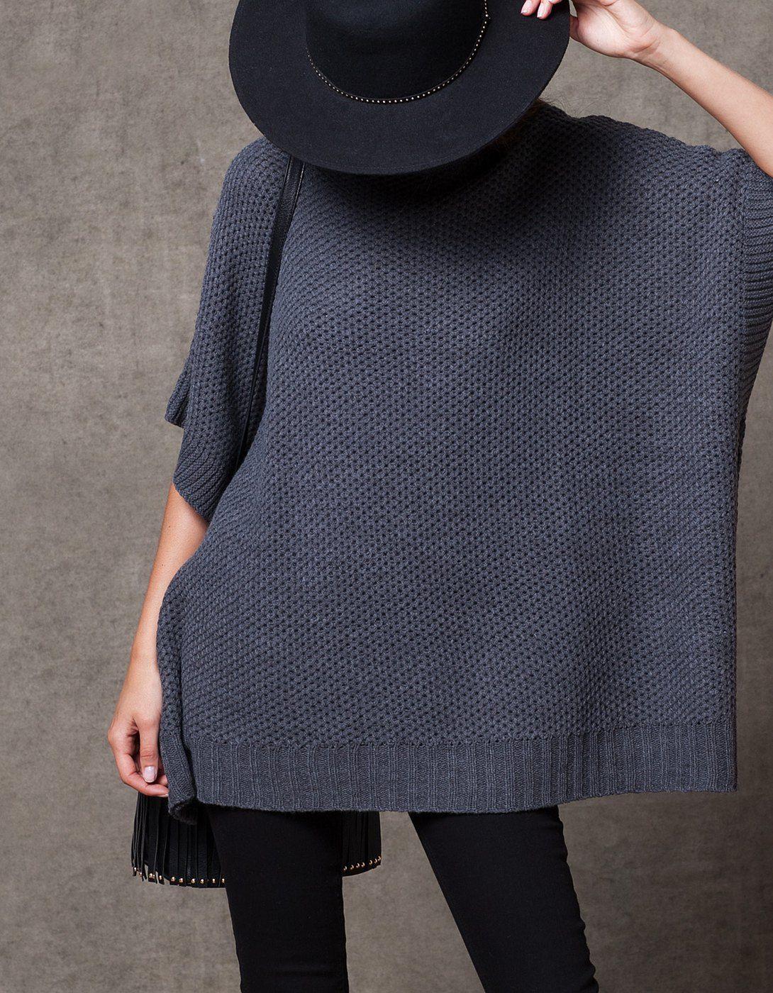 Camisola capa tricô
