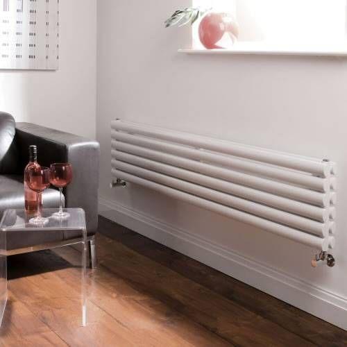 Radiateur Design Horizontal Blanc Vitality 35,4cm x 178cm x 7,8cm ...
