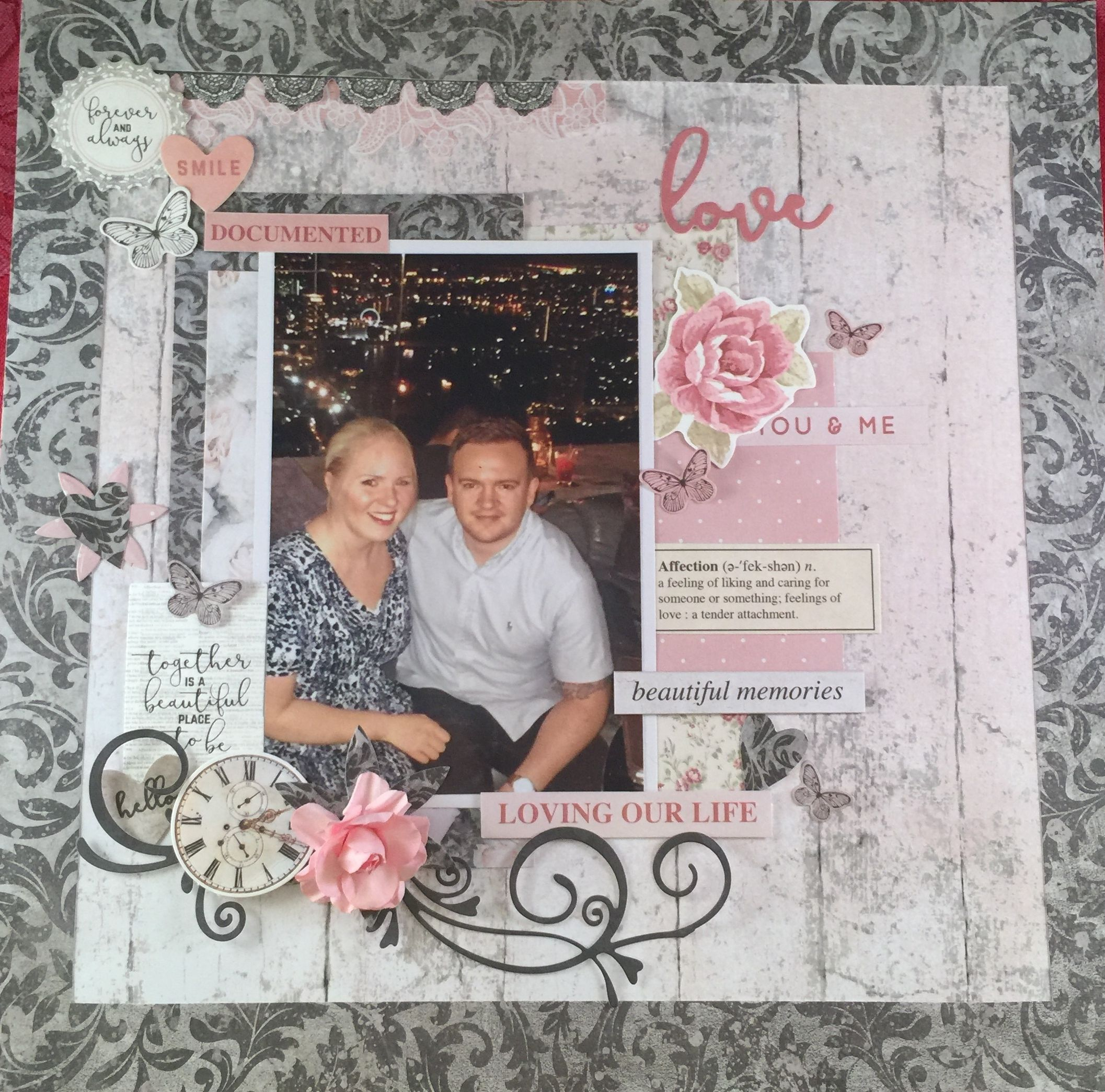 Loving Our Life With Kaisercraft P S I Love You Startingascrapbook
