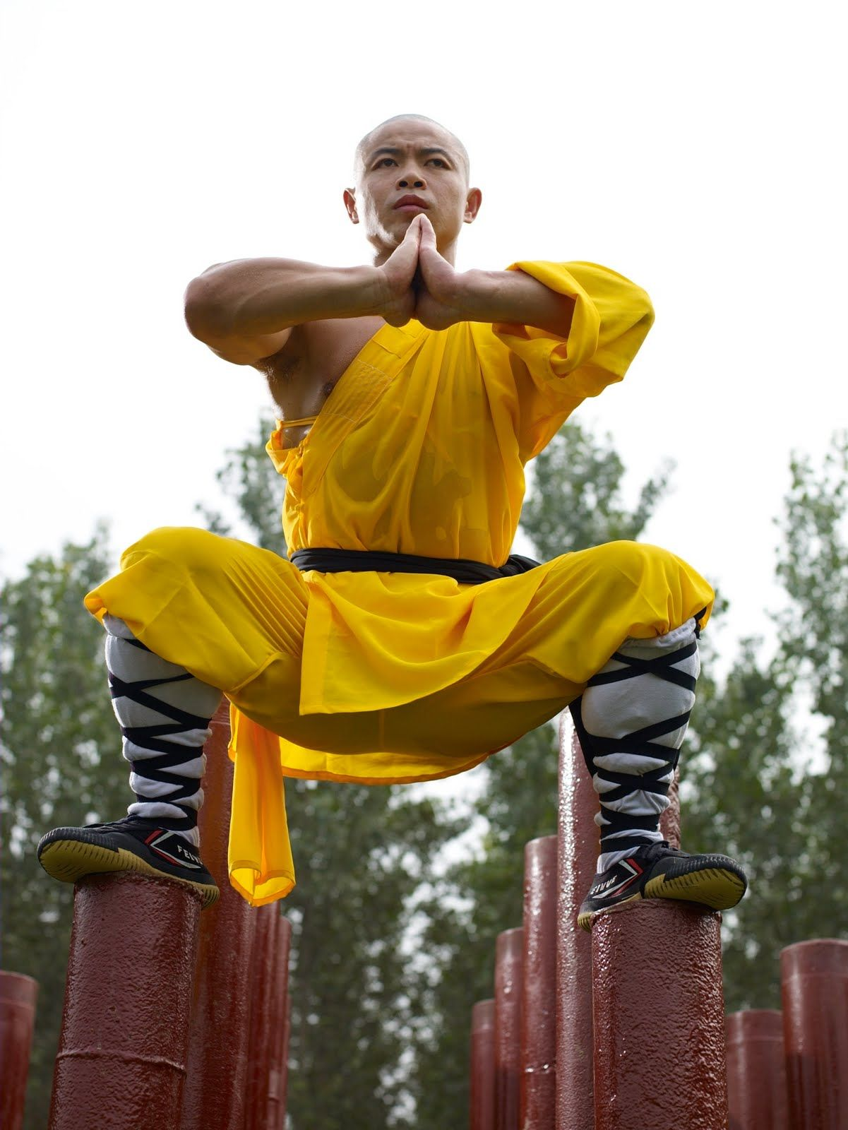 The monks of Shaolin. Training Shaolin monks. 10 myths about the monks of Shaolin 37