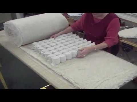 Putting Together The Inside Of A Couch Cushion How To Make