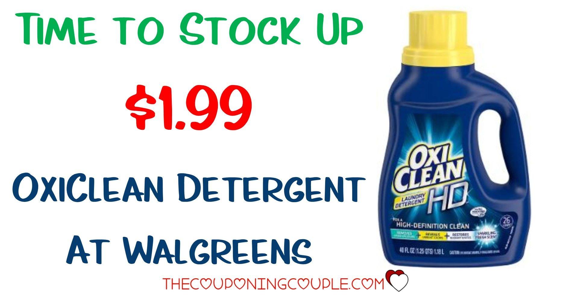 Cheap Oxiclean Hd Laundry Detergent Deal Cvs Walgreens Riteaid