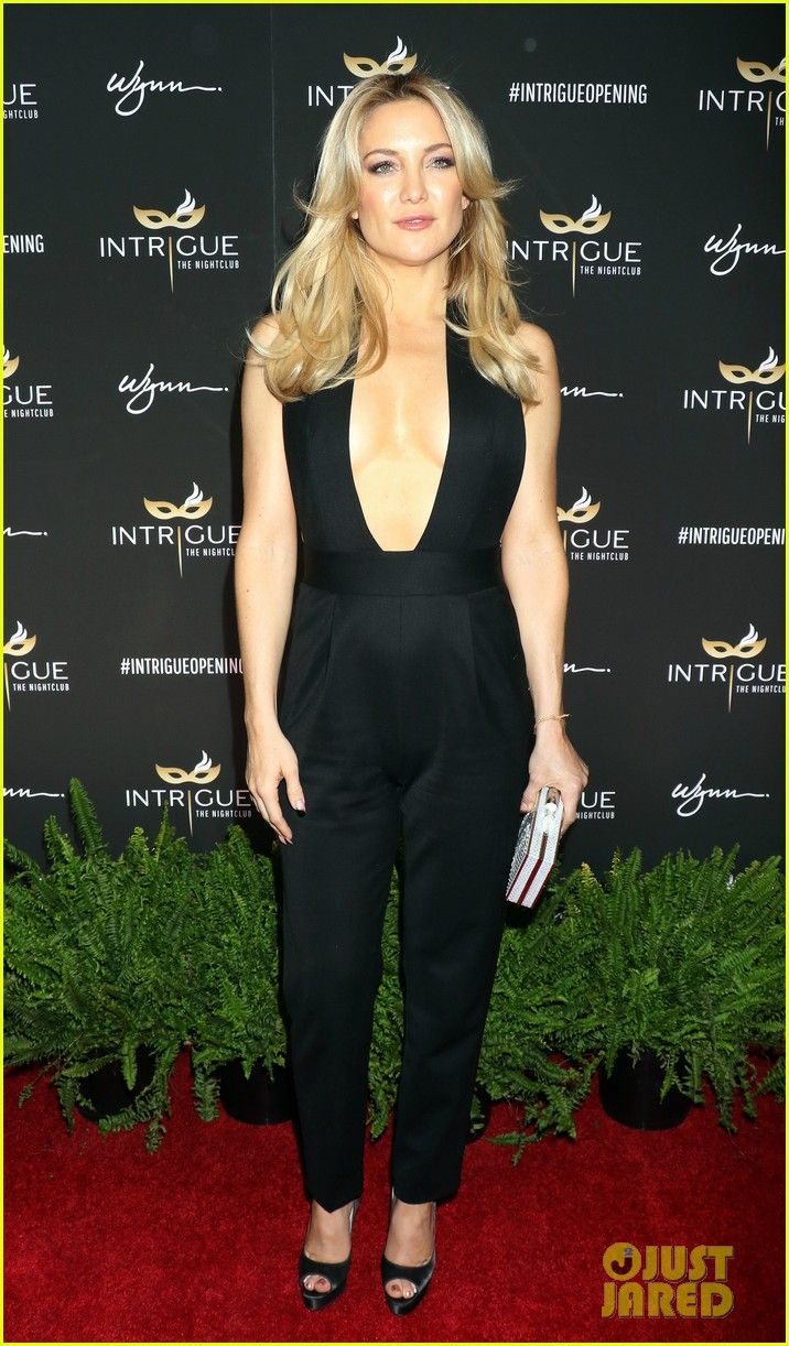 c989fe91d Kate Hudson   Michael B. Jordan Hit Up Intrigue Club Opening