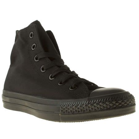 all black converse boots