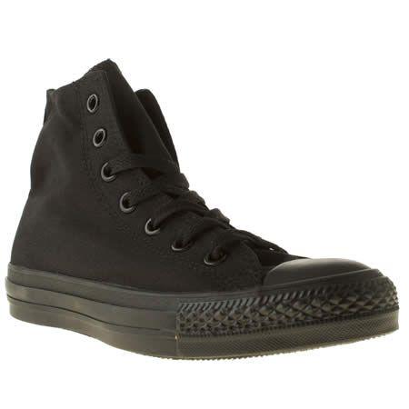 converse hi top all black