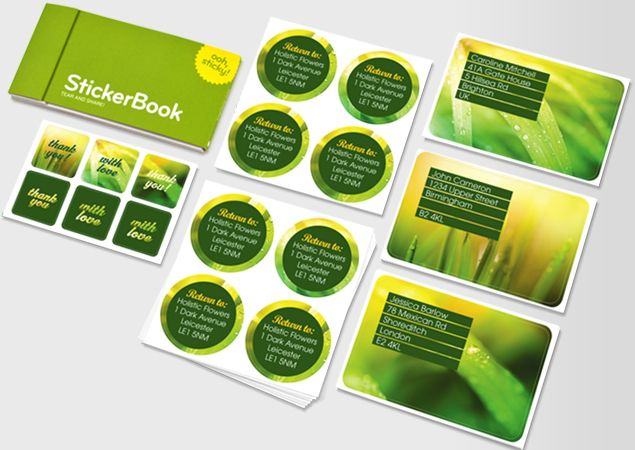 Custom online business printing design