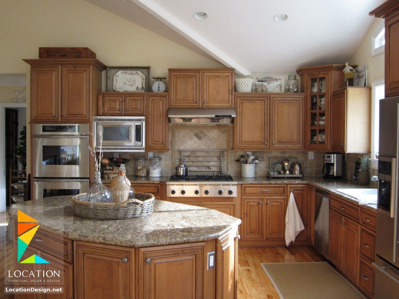 كتالوج صور مطابخ حديثة مطابخ مودرن مطابخ ريفية بسيطة لوكشين ديزين نت Kitchen Craft Cabinets Kitchen Cabinets Decor Country Kitchen Cabinets