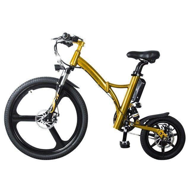 26 Front Wheel 14 Rear Wheel 250w 36v 6 4ah Lithium Battery E Bike Electric Bike Capacete Veiculos Invencoes