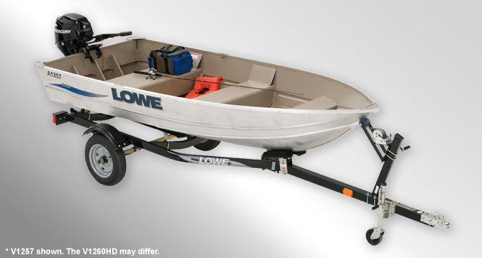 V1260 HD  Utility-V Boat