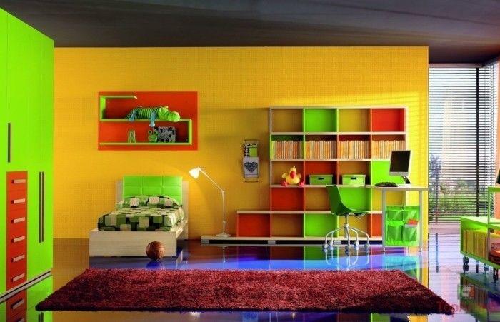 Peinture chambre enfant - 70 idées fraîches | Pinterest