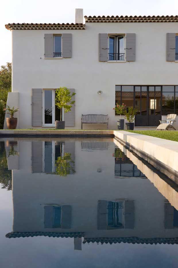 r alisations ligne traditionnelle esprit mas moderne casas pinterest casas casas. Black Bedroom Furniture Sets. Home Design Ideas