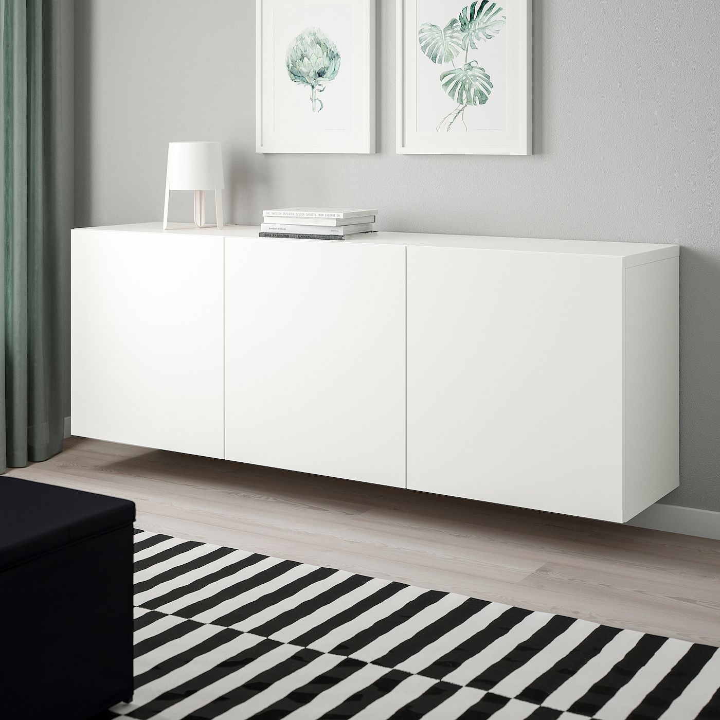 Photo of BESTÅ Schrankkombination für Wandmontage – weiß, Lappviken weiß – IKEA Deutschland