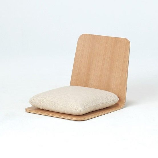 Muji Ash Floor Chair Game chair for Ri  for home  Floor chair Chair design Furniture