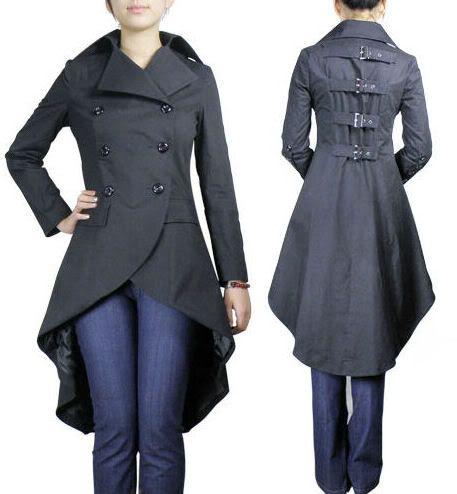 steampunk coat women google search steam punk. Black Bedroom Furniture Sets. Home Design Ideas