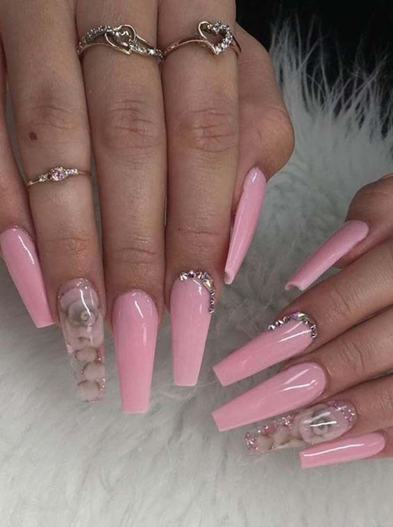 80 Newest Acrylic Coffin Nail Designs to Inspire You 2018 ...