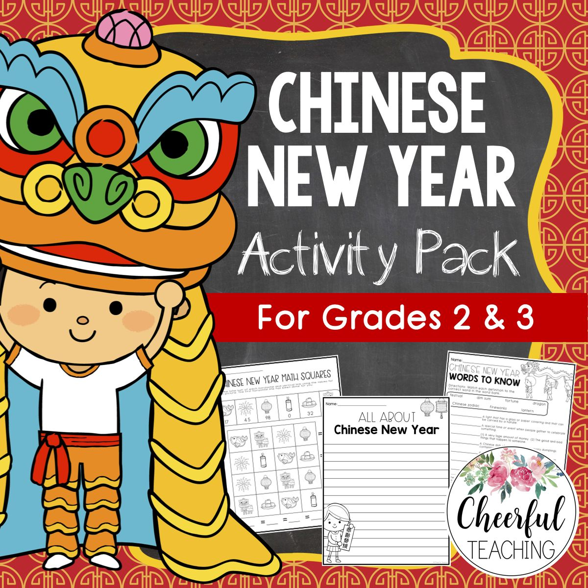 Chinese New Year Activity Pack