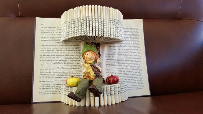 Onwijs Knutselen met oude boeken. (met afbeeldingen) | Boeken knutselen IG-27
