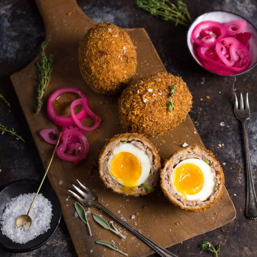 Scotch Eggs with a Perfect Runny Yolk - Nerds with Knives