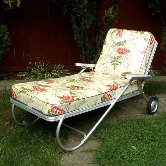 Vintage Chaise Outdoor Lounge Chair. My parents had one of them at the  river house. Everyone called dibs on it. We called it the napping chair. - Vintage Chaise Outdoor Lounge Chair. My Parents Had One Of Them At