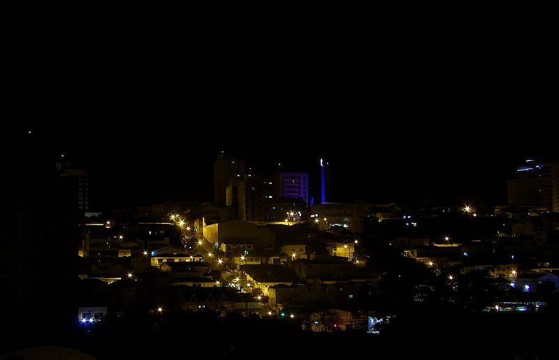 Vista noturna - Bragança Paulista/SP | por valtencirmoraes