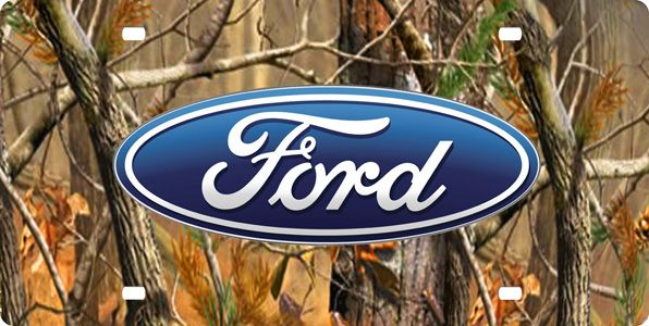 Camo Ford Logo Logo 300605 Ford Steel Plate Camo Chevy